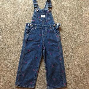 Oshkosh overalls size 2t